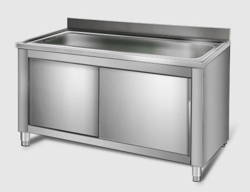 Meuble Sous Evier Pour Batterie De Cuisine Rincage