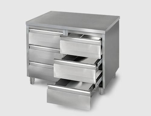 Armarios con cajónes - Muebles de acero inox. - Equipamiento ...
