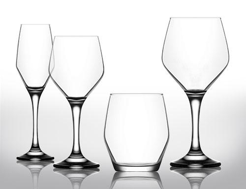 ELLA Champagnerglas CGELV2#SET24 0,23 Liter 24er Set