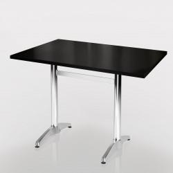 Ggm Möbel International Barcelona Tischsäule Edelstahl