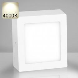 EMPIRE | LED Panel 225x225mm | 18W | 4000K | Neutral Weiß | Quadrat Aufputz Leuchte Lampe