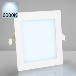 EMPIRE | LED Panel | Einbau | 174x174mm | 12W | 6000K | Kalt Weiß | Quadrat Spot Strahler Leuchte Lampe
