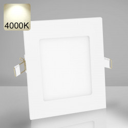 EMPIRE | LED Panel | Einbau | 120x120mm | 6W | 4000K | Neutral Weiß | Quadrat Spot Strahler Leuchte Lampe