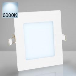 EMPIRE | Einbau LED Panel | 120x120mm | 6W | 6000K | Kalt Weiß | Quadrat Spot Strahler Leuchte Lampe