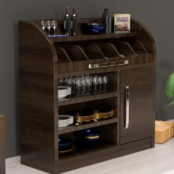 LEA | Besteckschrank | 110cm | 1xTür | Soft-Close | Holz Kellnerstation Schrank Kommode Servier Gastro