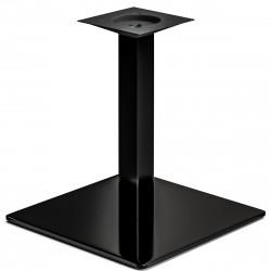 MADRID | Bistro Lounge Tisch Gestell | 45x45cm | 6x46cm | Schwarz  | Fuß Bein Säule Quadratisch