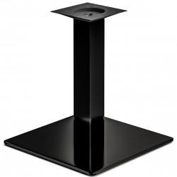MADRID | Bistro Lounge Tisch Gestell | 45x45cm | 8x46cm | Schwarz  | Fuß Bein Säule Quadratisch