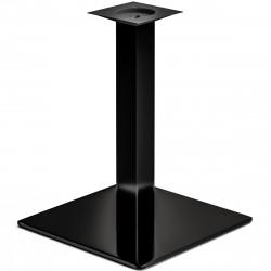 MADRID | Bistro Tisch Gestell | 50x50cm | 8x60cm | Schwarz  | Fuß Bein Säule Quadratisch