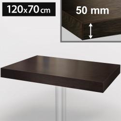 Bistro Tischplatte | 120x70cm | Wenge | Holz | Gastro Restaurant Holzplatte Tisch Gastronomie Stehtisch