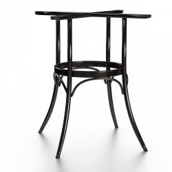 (INAKTIV) ALICIA Bugholz Gastro Tischgestell | H73cm | Wenge | Holz | 4 Fuß | Indoor | Gestell