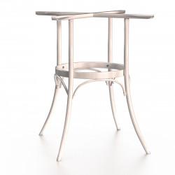 ALICIA Bugholz Tischgestell | H73cm | Weiß  | Bistro Gastro Wiener Gestell Tischfuß Tischbein Untergestell Tischsäule