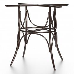 ELENA Bugholz Tischgestell | H73cm | Wenge  | Bistro Gastro Wiener Gestell Tischfuß Tischbein Untergestell Tischsäule