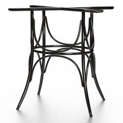 ELENA Bugholz Tischgestell | H73cm | Schwarz  | Bistro Gastro Wiener Gestell Tischfuß Tischbein Untergestell Tischsäule