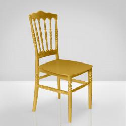 ESTELA Hochzeitsstuhl   Gold   Stapelbar Bankettstuhl Saalstuhl Stapelstuhl Hochzeit Bankett Saal Stapel Stuhl Stühle