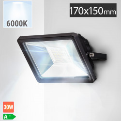 LED Fluter 30W | 6000K | Kaltweiß  | Aussenstrahler Flutlicht Flutlichtstrahler Aussenscheinwerfer Aussenfluter