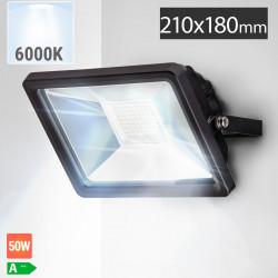 LED Fluter 50W | 6000K | Kaltweiß  | Flutlicht Flutlichtstrahler Aussenstrahler Aussenscheinwerfer Aussenfluter