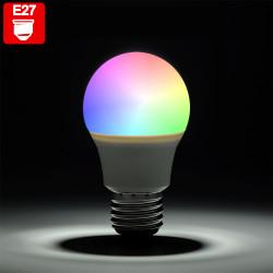 PIA RGB LED   Leuchtmittel   Tropfen Glühbirne   E27 - G45   Farbwechsel   Fernbedienung   Tropfenlampe Glühlampe Birne Lampe