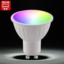 PIA RGB LED   Leuchtmittel   Spot   GU10   Farbwechsel   Fernbedienung   Reflektorlampe Strahler