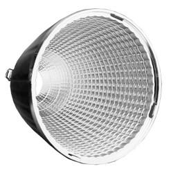 Reflektor 24° für 10W Spot | Ø55mm | Chrom | 3 Phasen  | Schienensystem Stromschiene Strahler Stromschienen Spot Strahler Spot Lampe Leuchte Schienen