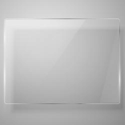 Tisch Glas   88x54cm   für Rio
