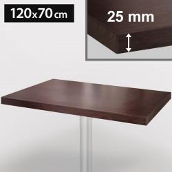 Bistro Tischplatte   120x70cm   Wenge   Holz   Gastro Restaurant Holzplatte Tisch Gastronomie Stehtisch