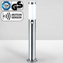 ALLISON Sensor Pollerleuchte 1100mm   Edelstahl   Bewegungsmelder Sockelleuchte Wegeleuchte