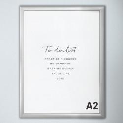 PHOENIX | Klapp Rahmen | A2 | Plakat Poster Wechsel