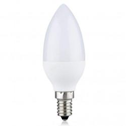 LED Leuchtmittel Glühbirne Kerze | A+ | 3W | E14 | 3000K | Warmweiß | Kerzenlampe Glühlampe Birne Sparlampe