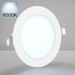 EMPIRE | Einbau LED Panel | Ø146mm | 9W | 6000K | Kalt Weiß | Rund Spot Strahler Leuchte Lampe