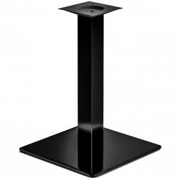 MADRID | Bistro Tisch Gestell | 45x45cm | 8x60cm | Schwarz  | Fuß Bein Säule Quadratisch