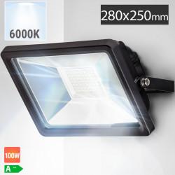 LED Fluter 100W | 6000K | Kaltweiß  | Flutlicht Flutlichtstrahler Aussenstrahler Aussenscheinwerfer Aussenfluter