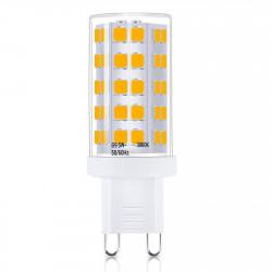 LED Leuchtmittel Stiftsockel | A+ | 5W | G9 | 3000K | 220V | Warmweiß | Stiftsockellampe Lampe Leuchte