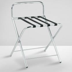 WILSON Kofferständer | Chrom | max: 50kg  | Kofferablage Kofferbock Gepäckablage Gepäckständer