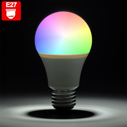PIA RGB LED | Leuchtmittel | Glühbirne | E27 | Farbwechsel | Fernbedienung | Glühlampe Birne Lampe