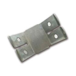 CALGARY Befestigungsklammern | Doppelspannfeder Klammer Halteklammer Clips | Abhängedraht mit Haken Mineral Faser Akustik Decken Raster Platten