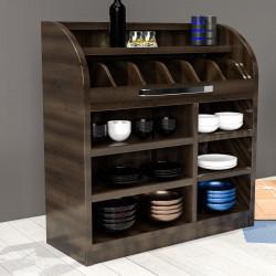 LEA | Besteckschrank | 110cm | Soft-Close | Holz Kellnerstation Schrank Kommode Servier Gastro