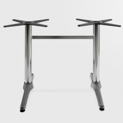 Gastro Bistro double table pillar ~ height 72 cm ~ aluminium ~ table support