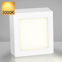 EMPIRE | Aufbau LED Panel | 225x225mm | 18W | 3000K | Warm Weiß | Quadrat Aufputz Leuchte Lampe