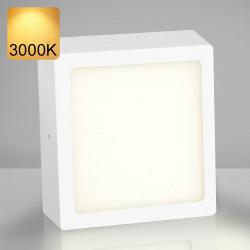 EMPIRE   Aufbau LED Panel   300x300mm   24W   3000K   Warm Weiß   Quadrat Aufputz Leuchte Lampe