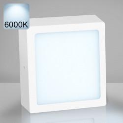 EMPIRE   Aufbau LED Panel   300x300mm   24W   6000K   Kalt Weiß   Quadrat Aufputz Leuchte Lampe