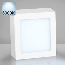 EMPIRE | Aufbau LED Panel | 225x225mm | 18W | 6000K | Kalt Weiß | Quadrat Aufputz Leuchte Lampe