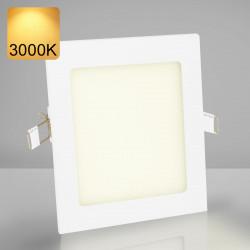 EMPIRE | LED Panel | Einbau | 174x174mm | 12W | 3000K | Warm Weiß | Quadrat Spot Strahler Leuchte Lampe