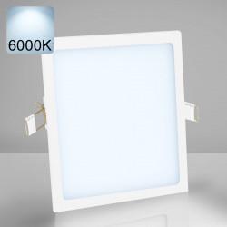 EMPIRE | Einbau LED Panel | 225x225mm | 18W | 6000K | Kalt Weiß | Quadrat Spot Strahler Leuchte Lampe