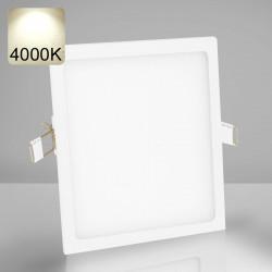 EMPIRE | LED Panel | Einbau | 225x225mm | 18W | 4000K | Neutral Weiß | Quadrat Spot Strahler Leuchte Lampe