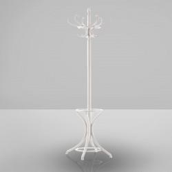LISSABON Bugholz Kleiderständer 1,9m | Weiß  | Stil Thonet Garderobenständer Garderobe
