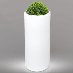 LOTUS Blumentopf Leuchte | E27 | Ø380xH960mm | Kabel | Beleuchteter Pflanztopf Blumenkübel Pflanzkübel Übertopf Kübel Lampe Gartentopf Gartenkübel