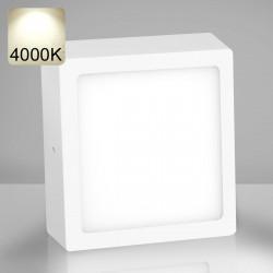 EMPIRE   LED Panel 300x300mm   24W   4000K   Neutral Weiß   Quadrat Aufputz Leuchte Lampe